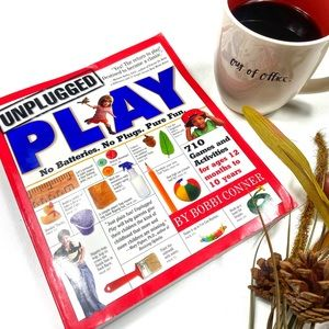 ☕️6/$20 Unplugged Play by Bobbi Connor Book